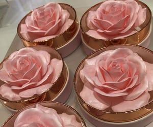 rose, pink, and makeup image