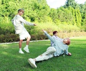 jin, jhope, and jungkook image