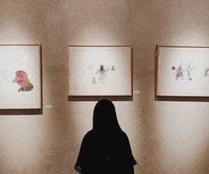 aesthetic, art, and brown image