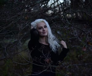 aesthetic, girl, and goth image