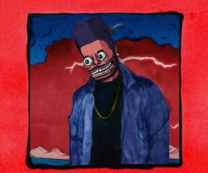 abel, the weeknd, and art image