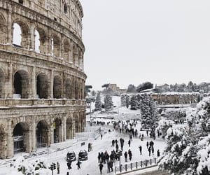 snow, italy, and winter image