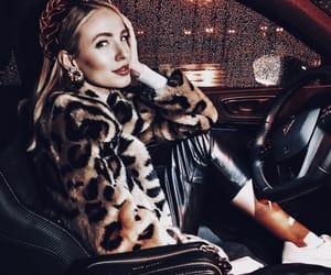 car, fashion, and fur image
