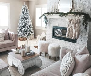 home, inspiration, and décoration noël image
