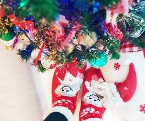 christmas, christmassocks, and decoration image