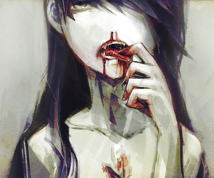 blood, anime, and vampire image