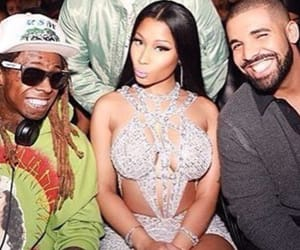 Drake, lil wayne, and nicki minaj image