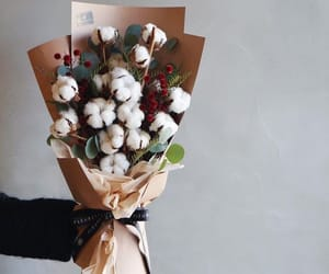 cotton and flowers image