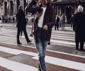 denim, girl, and style image