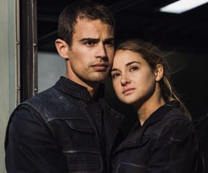 four, theo james, and tris image