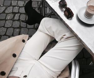 fall, sunglasses, and fashion image