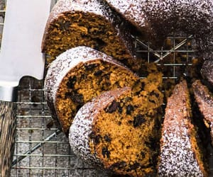 bread, chocolate, and food image