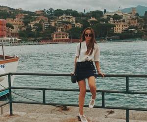 fashion, portofino, and italian image