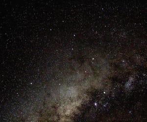 black, constellations, and dark image