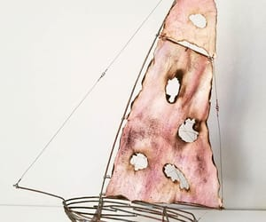 art, sculpture, and boat image