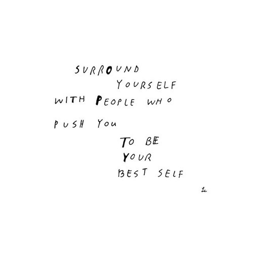 To be your best self on We Heart It