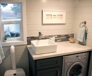 bathroom, house, and deco image