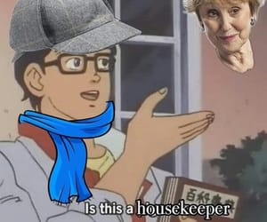 bbc, housekeeper, and memes image
