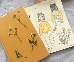aesthetic, yellow, and art image