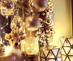 christmas, christmasmood, and deer image