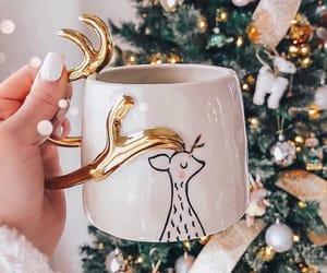 christmas, winter, and nails image