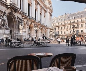 architecture, city, and coffee image