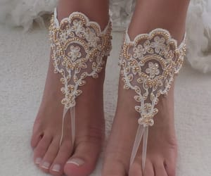 etsy, bridal accessories, and lace shoes image