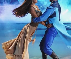 pocahontas, alexis ren, and dancing with the stars image