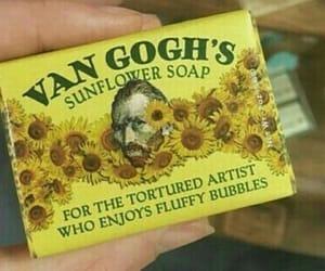 yellow, van gogh, and art image