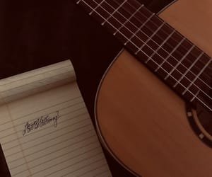 guitar, music, and songwriting image