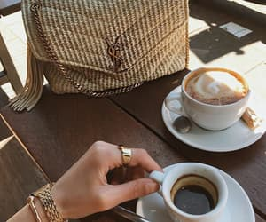 coffee, style, and bag image