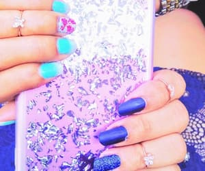 glitter, matte, and pretty rings image