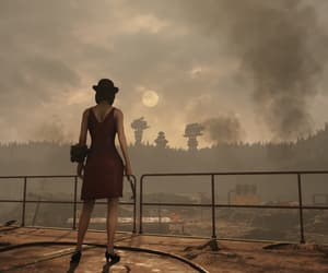 apocalypse, girl, and fallout image
