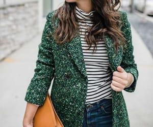 coat, fashion, and purse image