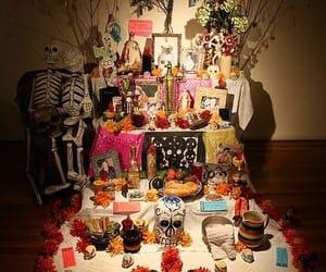 dia de muertos, ofrenda, and méxico image