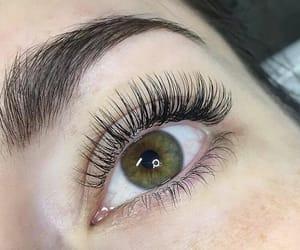 carefree, beauty, and eyelashes image