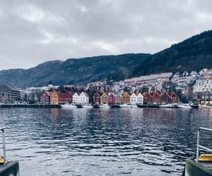 beautiful, bergen, and city image