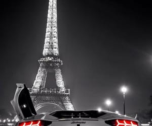 paris, car, and Lamborghini image
