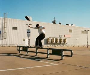 skate, skateboard, and skateboarder image