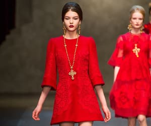 classy, fashion, and red image