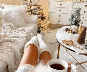 christmas, lifestyle, and white image