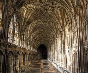 harry potter, cathedral, and architecture image