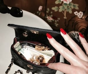 fashion, nails, and chanel image