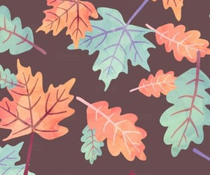 art, autumn, and wallpapers image