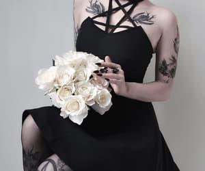 alternative, gothic, and tattoo image