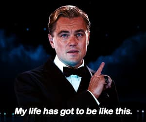 gif, handsome, and the great gatsby image