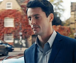 gif, a discovery of witches, and matthew goode image