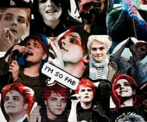 gerard way, mcr, and wallpaper image