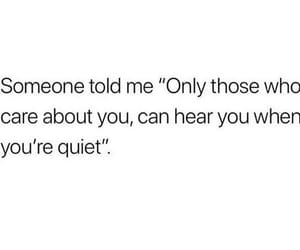 deep, quiet, and quote image