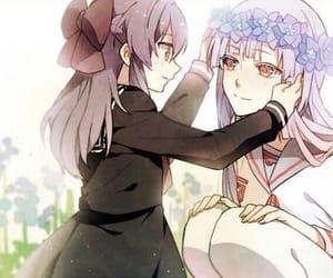 owari no seraph, anime, and anime girl image